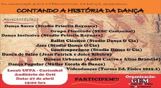 UFPA/Castanhal promove mostra artística em comemoração ao Dia Internacional da Dança