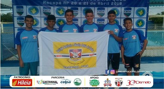 Projeto Castelo dos Sonhos conquista 22 medalhas em competição Norte/Nordeste de Natação
