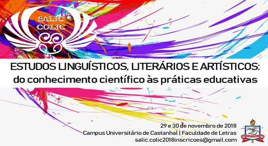 Divulgada a programação do Simpósio Artístico-Literário e do Colóquio de Linguística