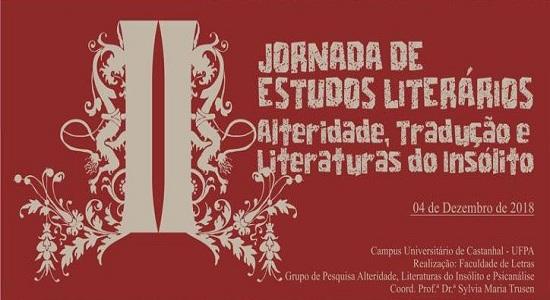II Jornada de Estudos Literários já é nesta terça: veja a programação