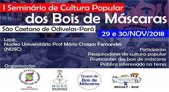 PPGEAA promove I Seminário de Cultura Popular em São Caetano de Odivelas