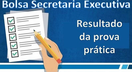 Processo Seletivo para bolsista da Secretaria Executiva: resultado da prova prática