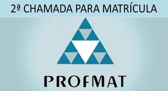 ProfMat realiza segunda chamada para matrícula