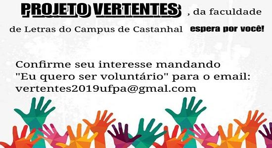 Projeto de Extensão da Faculdade de Letras seleciona voluntários