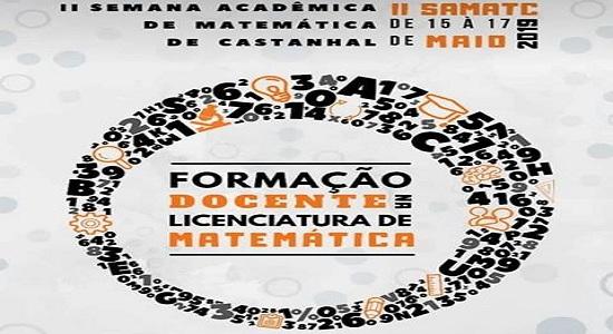 2ª Semana Acadêmica de Matemática está com inscrições abertas