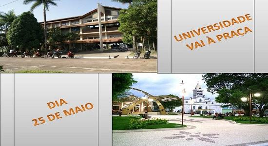 """""""Universidade vai à praça"""" acontece neste sábado em Castanhal"""