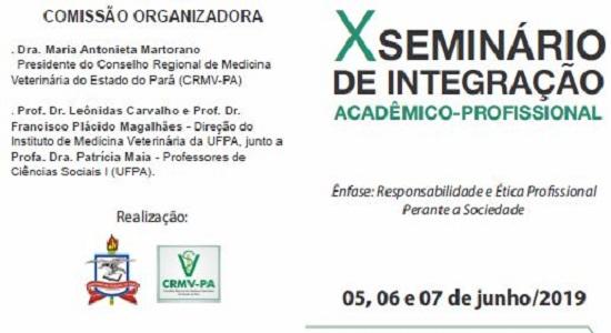 X Seminário de Integração Acadêmico-Profissional aborda temáticas voltadas para a atuação do Médico Veterinário