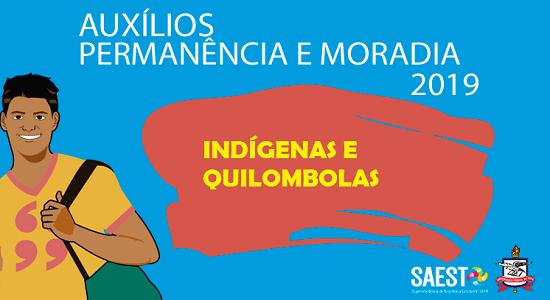 Auxílios Permanência e Moradia abrem novas inscrições para discentes indígenas e quilombolas