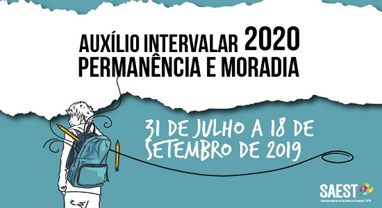 SAEst publica edital do Auxílio Intervalar 2020