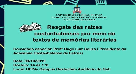 Faculdade de Letras promove evento com a participação de alunos da Escola Estadual Elcione Barbalho