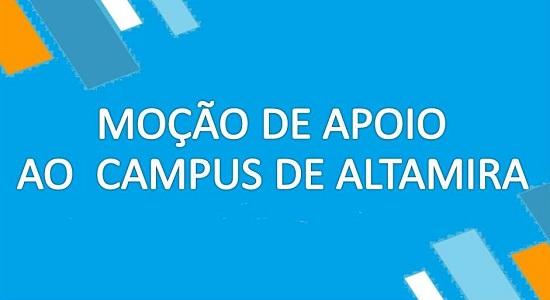 Moção de apoio ao Campus de Altamira