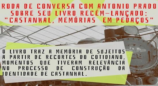 Roda de conversa da Faculdade de Letras traz lançamento de livro sobre a história de Castanhal