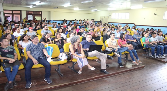 Campus de Castanhal recepciona calouros aprovados no PS 2020