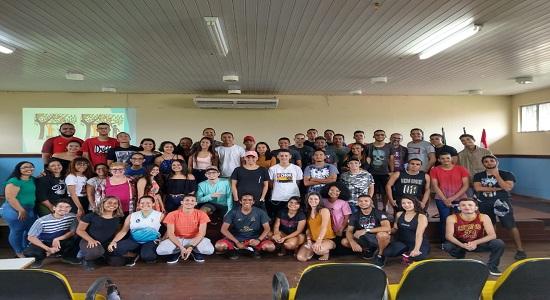Calouros de Educação Física participam de oficinas e orientações acadêmicas