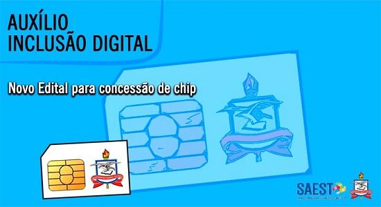 UFPA divulga novo edital para concessão de Auxílio Inclusão Digital na modalidade de chip