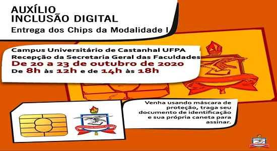 Campus de Castanhal inicia entrega de chips para uso no Ensino Remoto Emergencial