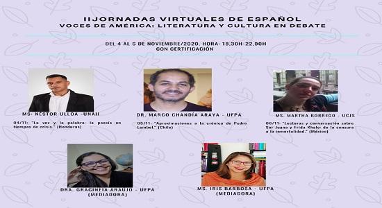 II Jornadas virtuales de español: último dia para inscrições
