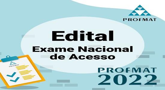 Prorrogadas as inscrições para o Exame Nacional de Acesso ao ProfMat