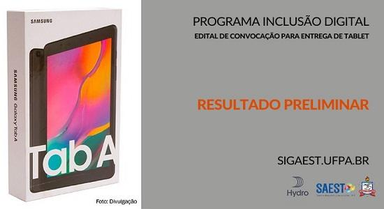 UFPA publica resultado preliminar da solicitação de tablet para atividades acadêmicas